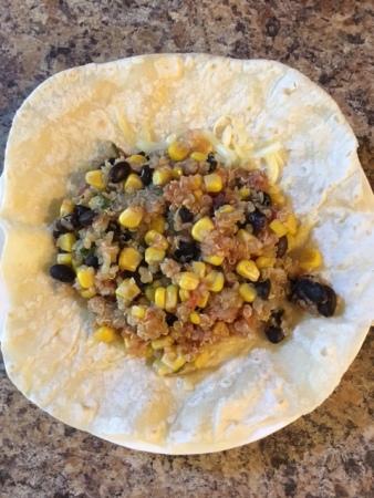 http://allrecipes.com/recipe/49552/quinoa-and-black-beans/